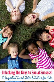 Unlocking The Keys to Social Success! 13 Important Social Skills Activities for Kids