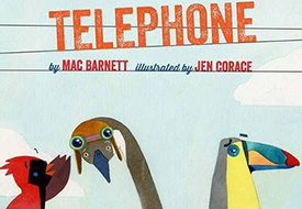Telephone: Social skills books about communication