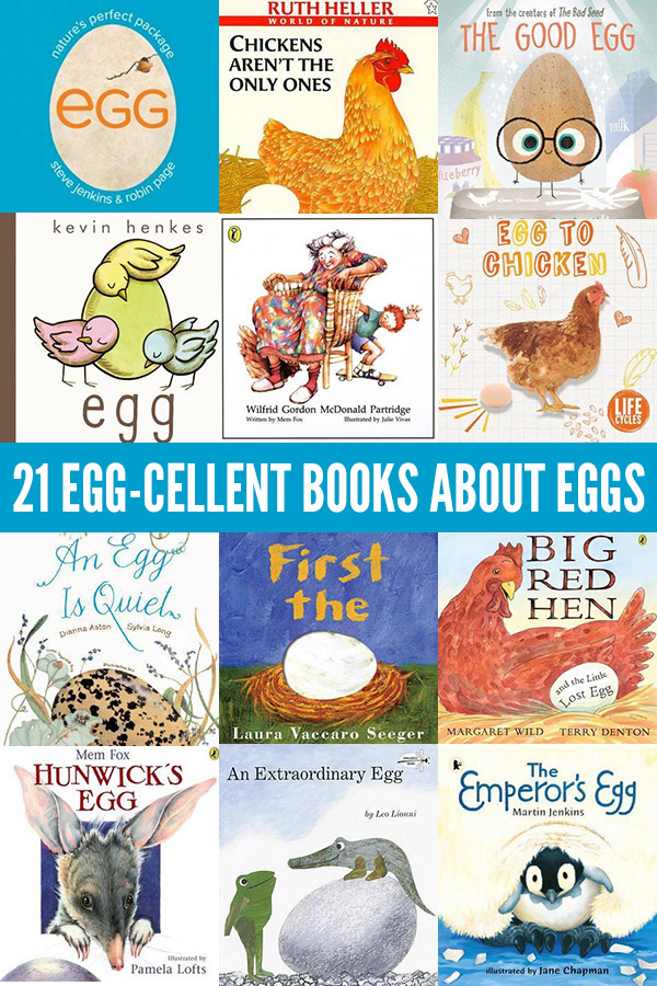 21 Picture Books about Eggs