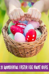 21 Wonderful Easter Egg Hunt Ideas