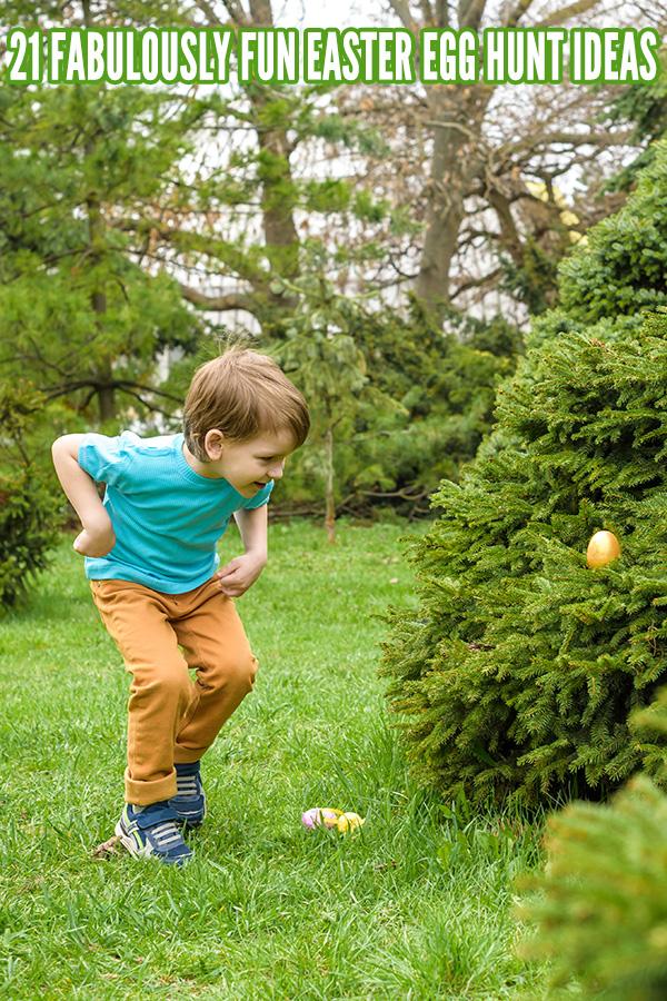Egg Hunt Ideas for Easter