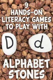 9 Hands On Alphabet Games with Alphabet Stones