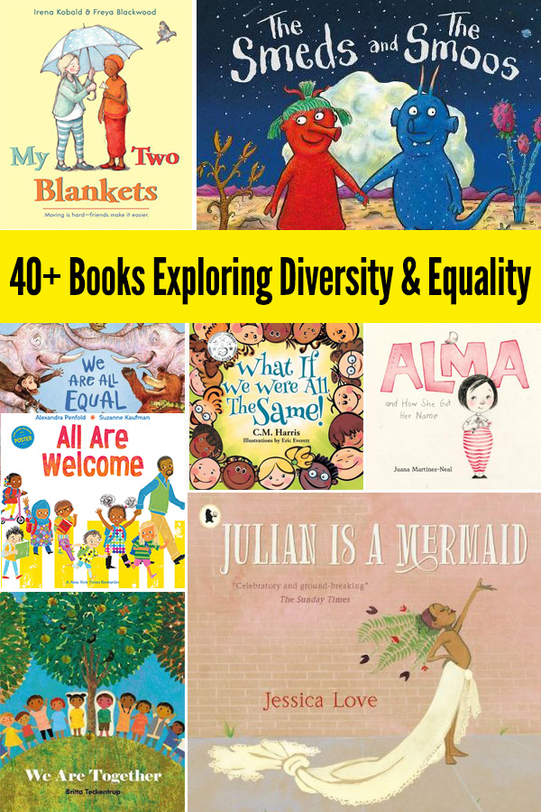 40+ Picture Books About Diversity