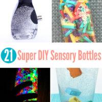 21 DIY sensory bottles