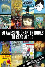 50 Fabulous Read Aloud Chapter Books to Enjoy with Older Kids. As Voted By Parents.
