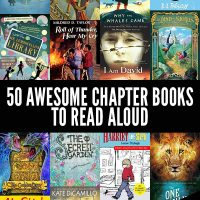 50 great read aloud chapter books for 6 to 12 year olds