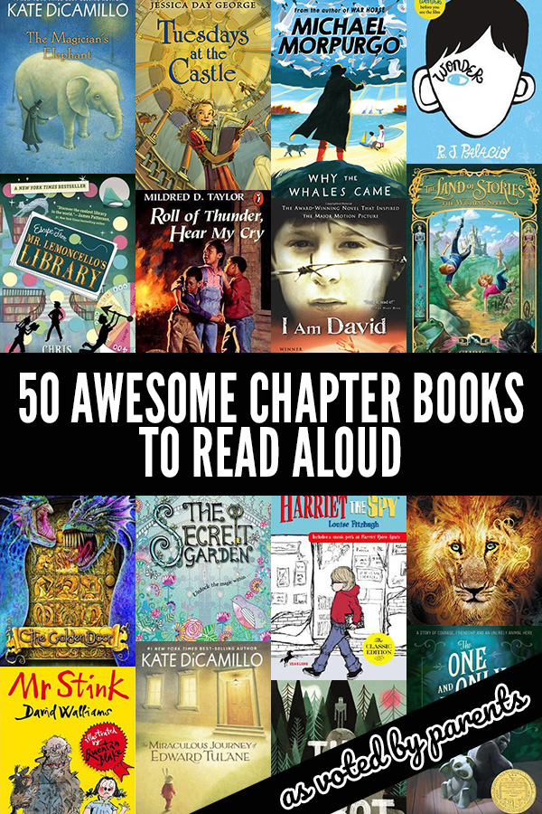 50 Fabulous Read Aloud Chapter Books For Older Kids Voted By Parents