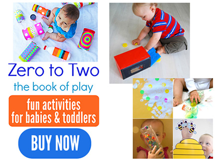 Play ideas for babies and toddlers