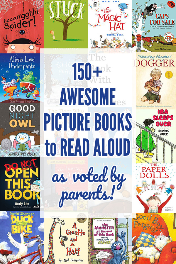150+ awesome picture books story books to read aloud. As voted by parents.