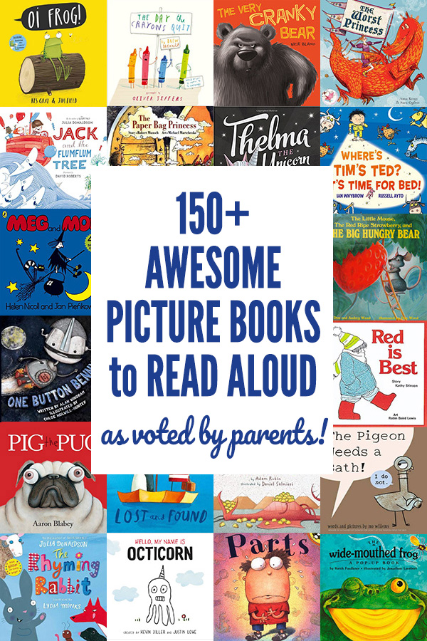150+ Best Kids Picture Books to Read Aloud: As Voted by Parents