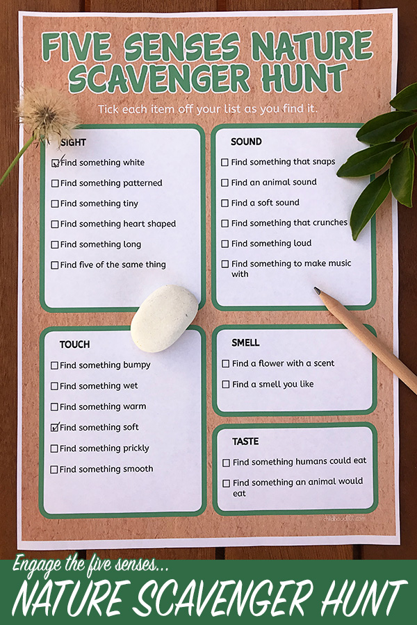 graphic about Classroom Scavenger Hunt Printable known as Mother nature Scavenger Hunt Printable: Looking into Character With the