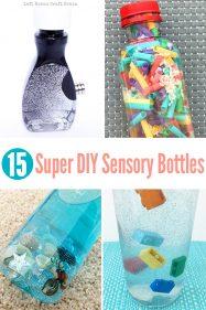 15 Super DIY Sensory Bottles