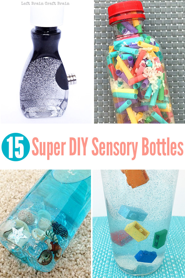 15 Super Diy Sensory Bottles Childhood 101