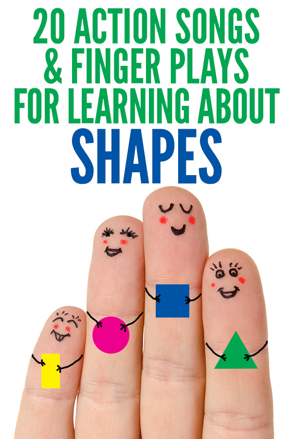 Shapes Rhymes, Songs and Fingerplays