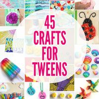 45 Fun Summer Crafts for Tweens