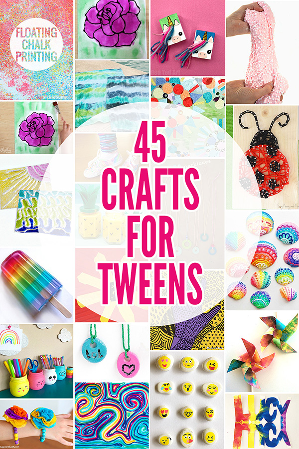 bbd95fb35399 45 Fabulously Fun Summer Crafts for Tweens  Ideas for 8-12 Year Olds