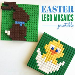 Easter Lego Mosaics