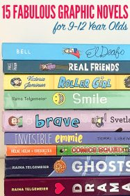 15 Fabulous Graphic Novels for 9-12 Year Olds