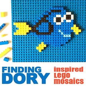 Finding Dory Character Mosaics