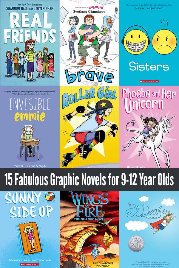Graphic Novels for 9 to 12 year olds