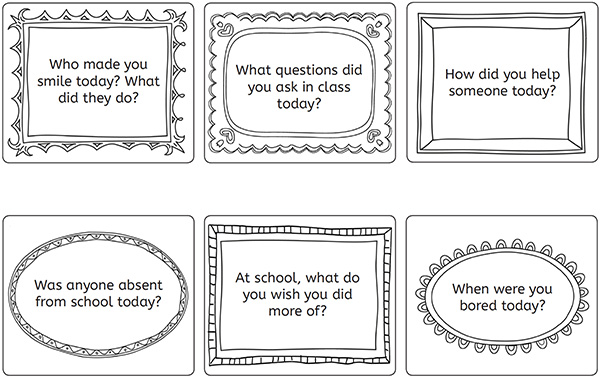 How to ask your child about their day conversation starters