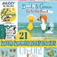 Summer Picture Books for Preschool and Kindergarten