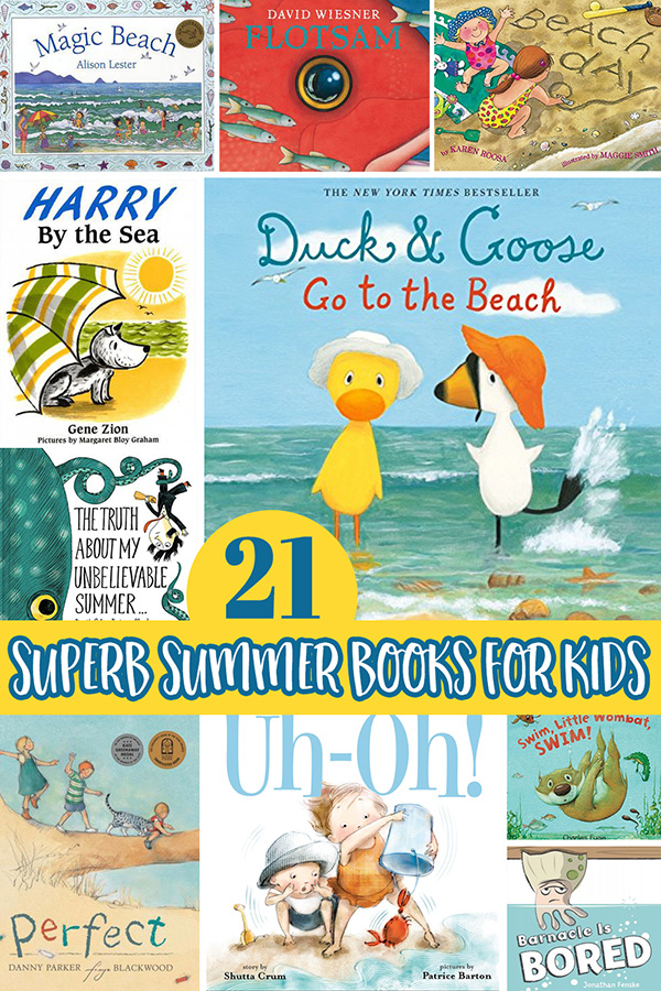 Summer Picture Books for Preschool and Kindergarten