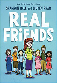 Real Friends: Graphic Novels for tween girls