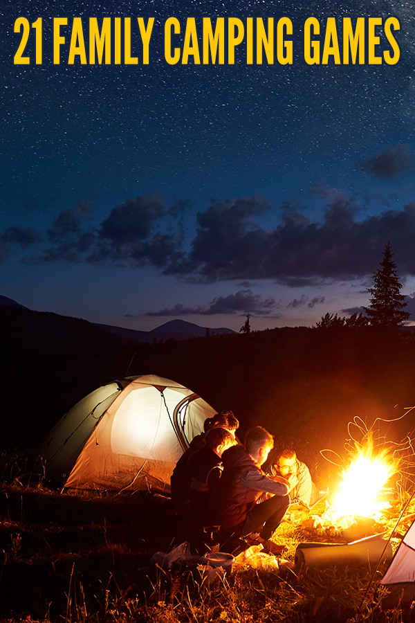 21 Best Family Camping Games - Childhood101