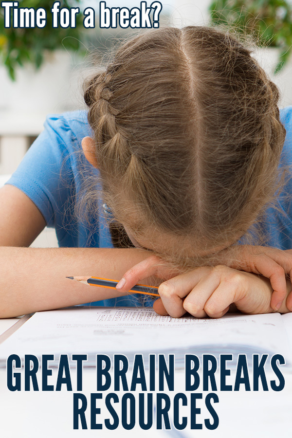 Brain breaks for kids. Great resources for teachers.