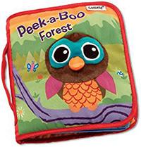 PeekaBoo Forest Sensory Book