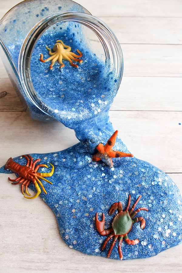 Sea Life Slime Recipe