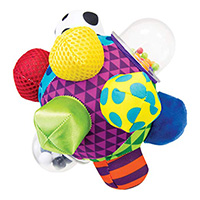 Bumpy sensory ball for baby play