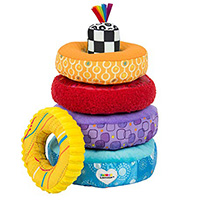 Stacking toy cloth