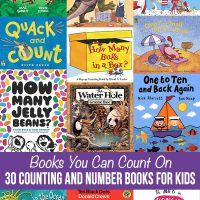 Count and Number Books for Kids: Picture Book Math