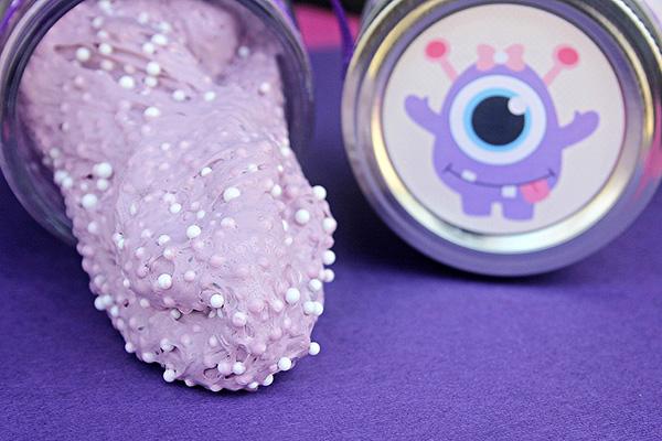 Floam Slime: Purple Monster Floam Slime Recipe