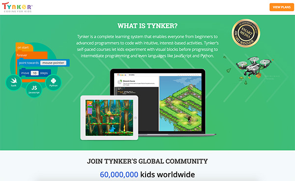 Free coding websites for kids