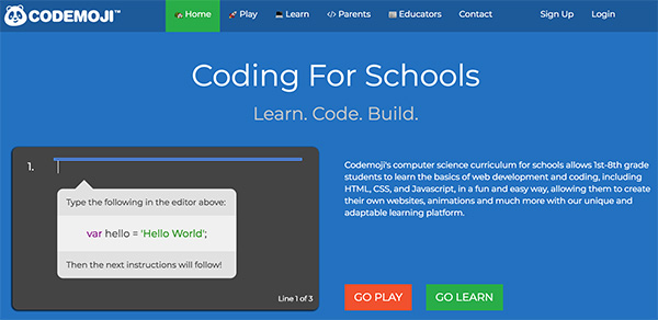 Free kids coding games websites