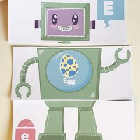 Phonics Games AlphaBOT Beginning Sounds Matching Game