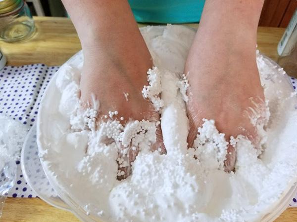 Floam slime recipe step five