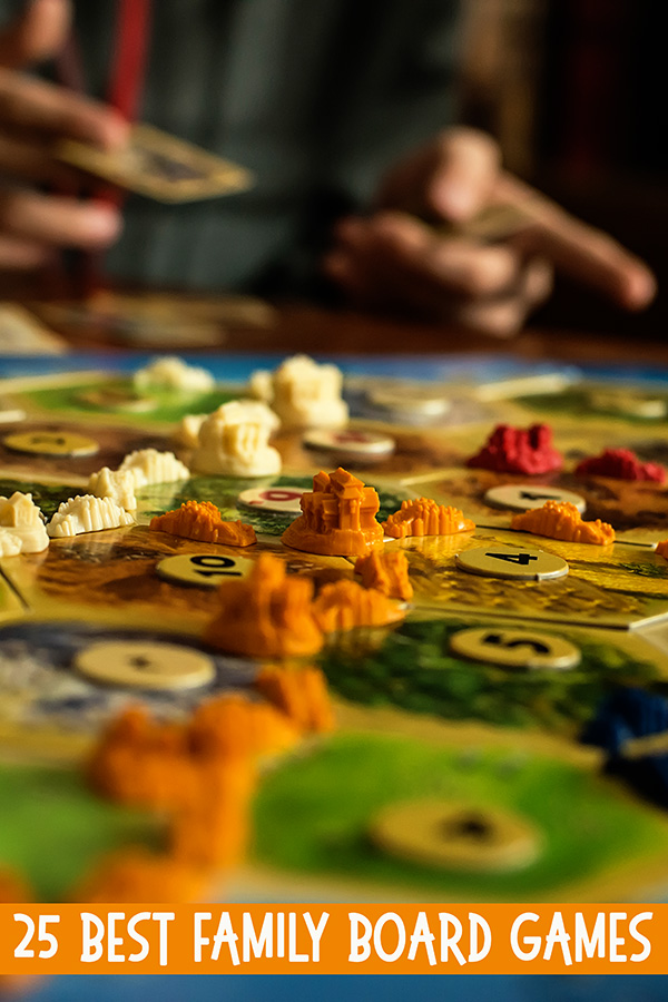 25 Best Family Board Games for Family Game Night Fun