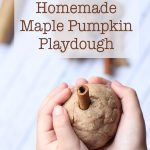 Easy Microwave Maple Pumpkin Playdough: Awesome Fall Sensory Play