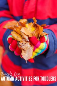 Autumn Activities for Toddlers That Are Simple & Fun to Do