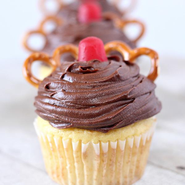 Easy Christmas Cupcakes