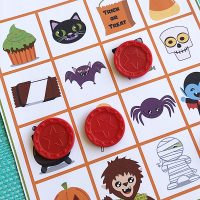 Halloween Games for Kids: Printable Halloween Bingo