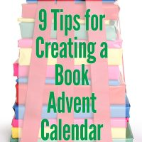Get kids reading with a book advent calendar