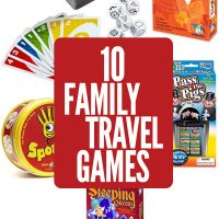 10 Family Travel Games