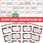 Christmas Lego Advent Calendar & Challenge Cards