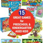 15 Board Games for Preschool & Kindergarten (Ages 3-5 Years)