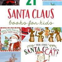 Santa Claus Christmas Picture Books for kids